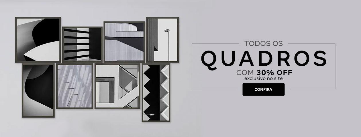 Quadros com 30%OFF | Tok&Stok