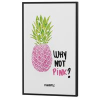 Why not pink? quadro 23 cm x 38 cm