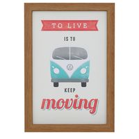 Going to - to live quadro 23 cm x 33 cm