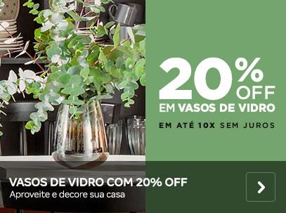 Vasos de Vidro com 20% OFF | Tok&Stok
