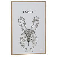 Little ones rabbit quadro 20 cm x 30 cm