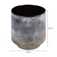 vaso-21-cm-preto-konkret-burgo_med