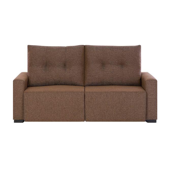 sofa-retratil-2-lugares-mescla-marrom-laziness_st0