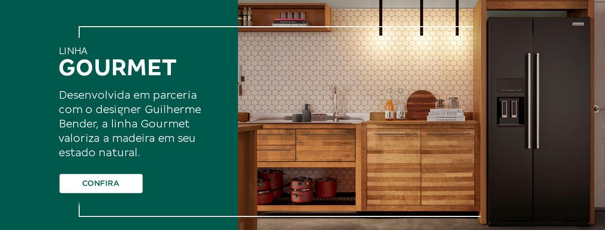 Linha Gourmet - Cozinhas Modulares | Tok&Stok