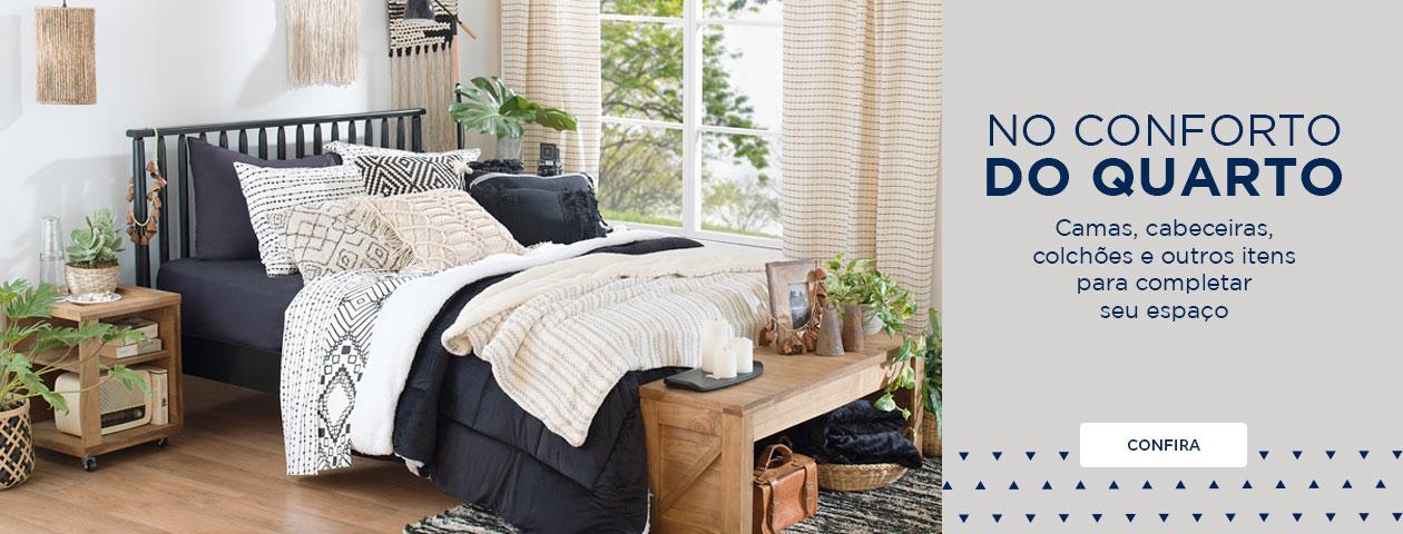 No conforto do quarto | Tok&Stok