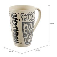 Hora do café caneca 400 ml