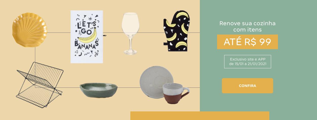 Itens de cozinha até 99 | Tok&Stok