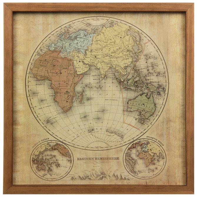 mundi-eastern-hemisph-quadro-33x33-garapa-bege-mapa-mundi_st0