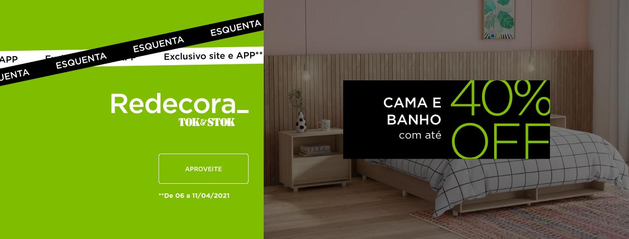 Redecora - Cama e Banho | Tok&Stok