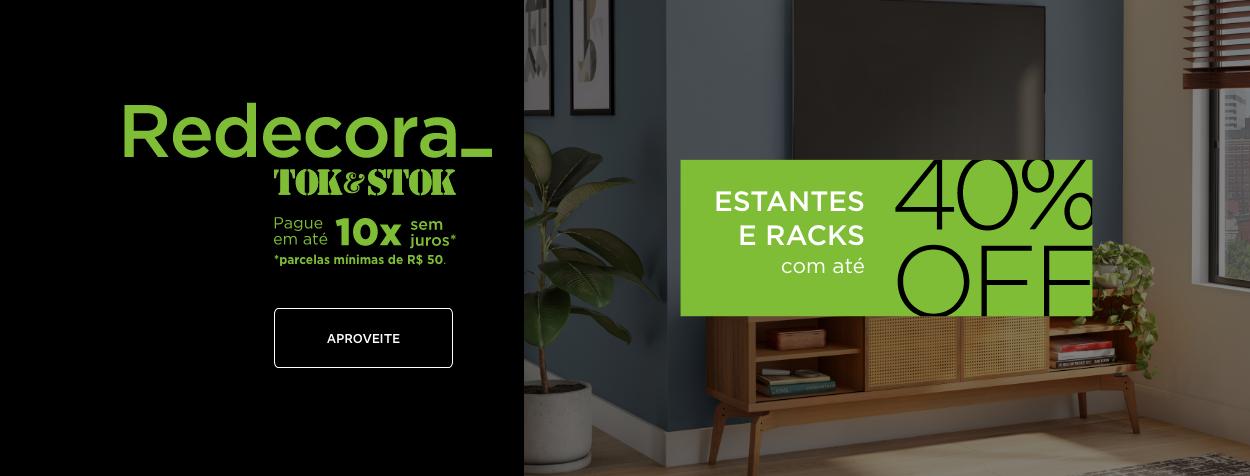 Redecora - Estantes e Racks | Tok&Stok