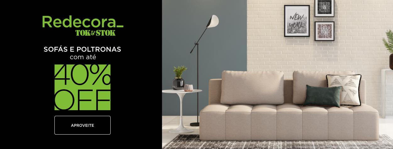 Redecora - Sofás, puffes e poltronas | Tok&Stok
