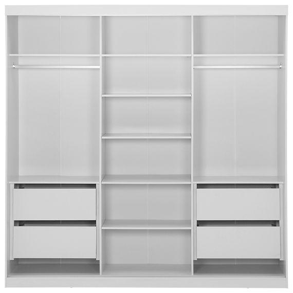 Estrutura Guarda-roupa 3 Portas Branco Slides - Tok Stok - M ef50184ed27